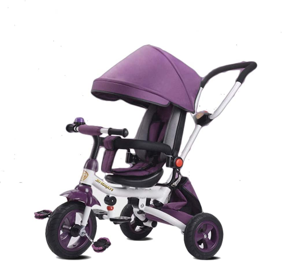Moolo Children's Tricycle 1-3-5 NEW before selling Year Cart Toy Lightwe 5 popular Old Child