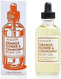 elizabethW Orange Flower Chamomile Body Oil - 4 ounces