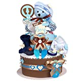 Torta di Pannolini/Pampers torte > > Baby regalo...