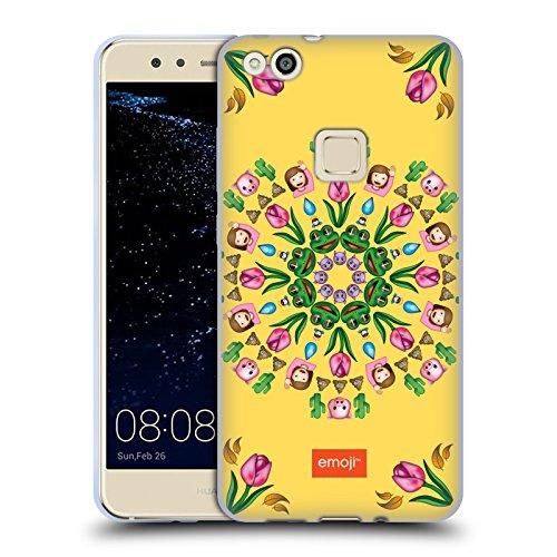 Head Case Designs Oficial Emoji Mandala Surtido de Impresiones Carcasa de Gel de Silicona Compatible con Huawei P10 Lite