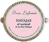 Navajas al Natural Rosa Lafuente (8 unidades) - De las Rias Gallegas - Producto del Mar 100% Natural y Artesanal -