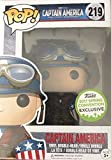 Funko Pop! Marvel Captain America World War 2, Emerald City Comic Con Spring Convention Exclusive, Concierge Collectors Bundle Vinyl Figure