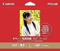 キヤノン 写真用紙光沢ゴールドL判400枚 GL-101L400 00915296 【まとめ買い3冊セット】