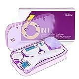 Fixget Rodillo Microagujas Facial, Derma Roller 1.0/0.5/0.25/1.5mm Titanio Agujas para Anti Acne Crecimiento Del Cabello...