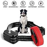 Dogs Bark Collar SUPERNIGHT Dog Training Collar No Shock Harmless & Humane Spray