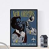 Nacnic Vintage Poster Vintage Poster Amerika. New Orleans