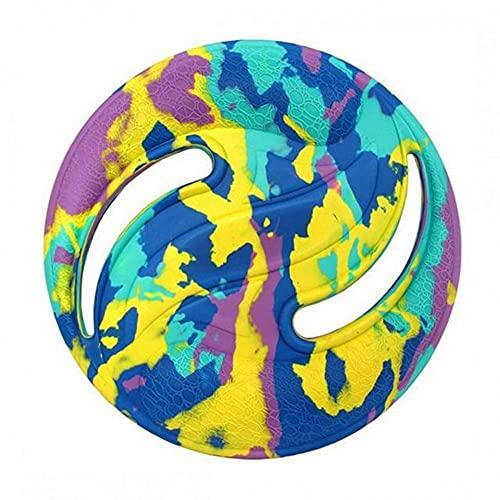 Eva Dischi Volanti Sport Acquatici Spiaggia Disco Volante Wave Gravity Disc Boomerang All'aperto Animali Domestici Formazione Giocattolo Sport All'aperto, 224mm, 4 colori