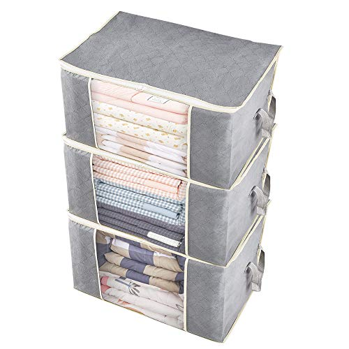 UOUNE Clothes Storage Bags with Zips