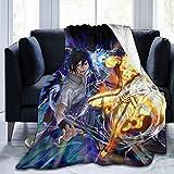 Naruto Anime Flannel Fleece Blankets Ultra-Soft Throw Blanket Comfortable Luxury Sofa Blanket 50'x40'