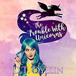 The Trouble with Unicorns audiobook cover art