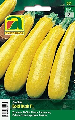 Austrosaat 551 Zucchini Gold Rush F1 (Zucchinisamen)