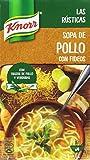 Knorr Las Rústica Sopa de Pollo con Fideos - Paquete de 8 x 1 L - Total: 8 L...
