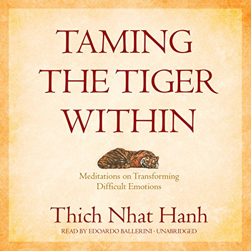 Taming the Tiger Within audiobook cover art