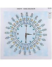 Weehey Mire Las Pinturas de Diamante DIY 5D Diamante Pintura Cristal Forma Especial Diamante para la Decoración de la Pared del Hogar