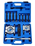DASBET 14PCS Bearing Separator Puller Set 2' and 3' Splitters Remove Bearings Kit, Heavy Duty