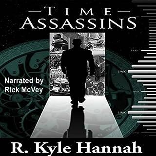 Time Assassins audiobook cover art