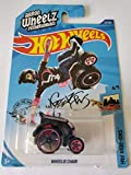 Hot Wheels 2020 HW Ride-Ons Aaron Wheelz Fotheringham Wheelie Chair 22/250, Black and Pink