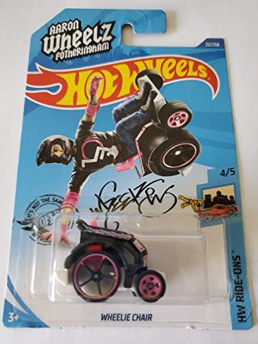 Hot Wheels 2020 Hw Ride-Ons Wheelie Chair, 22/250 Black