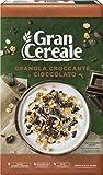 Gran Cereale Cereali Croccanti, Granola Croccante e Cioccolato, Ricchi di Fibra e Fosforo, Senza Olio di Palma, 291 g