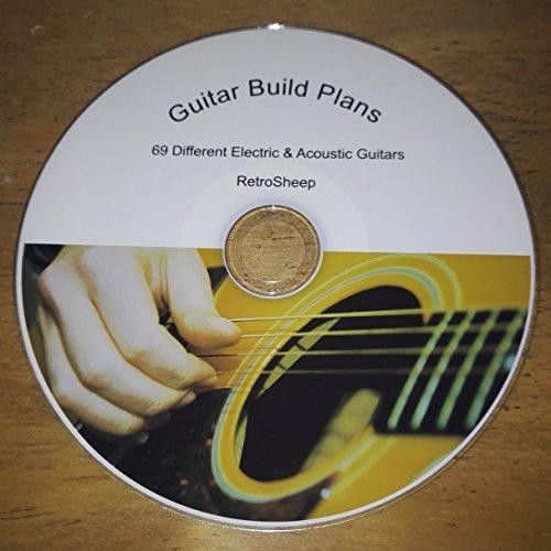 Gibson, para guitarra, diseño de planes de construcción eléctricos, acósticos, de IBANEZ...