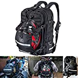 Best Motorcycle Backpacks - Goldfire Waterproof Large Capacity Expandable Tactical Backpack Flag Review