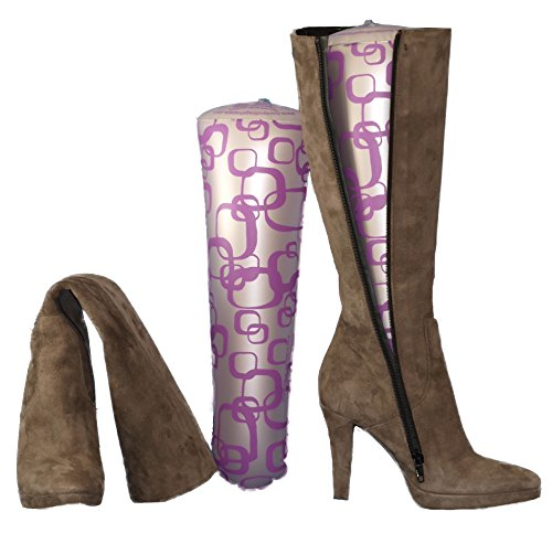 Boot and Bag shapers Aufblasbares Stiefelspanner Purple Madness