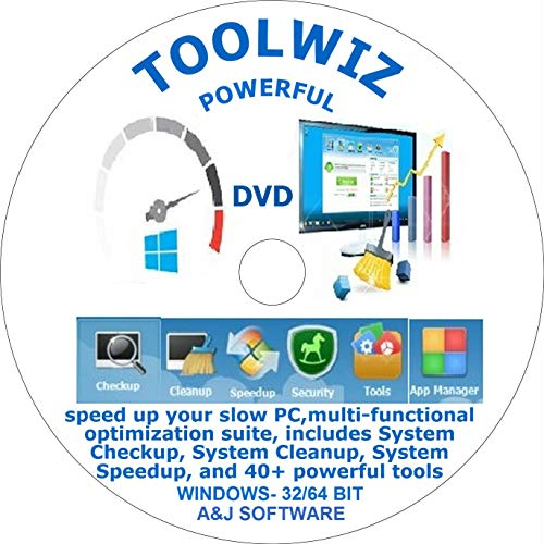Toolwiz( DVD) is a toolkit designed to speed up your slow PC.With a multi-functional optimization suite, compatible to Windows 10/8.8.1.7 xp system,is powerful software +40 tools includes