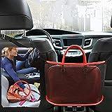 Rete Portaoggetti per Auto Bagagliaio Car Net Pocket Handbag Holder Organizer Supporto Borsa da Tasca in Rete per Auto, Organizer Sedile Posteriore per Riporre Portafogli, Telefono, Documenti