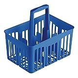 Stefanplast Cestello Portabottiglie, 6 Posizioni, Riciclabile, 30x21xh. 28 Cm Blu