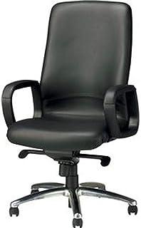 プレジデント用チェアー・肘掛付き・No.516S・ブラック・-社長室、役員用家具-