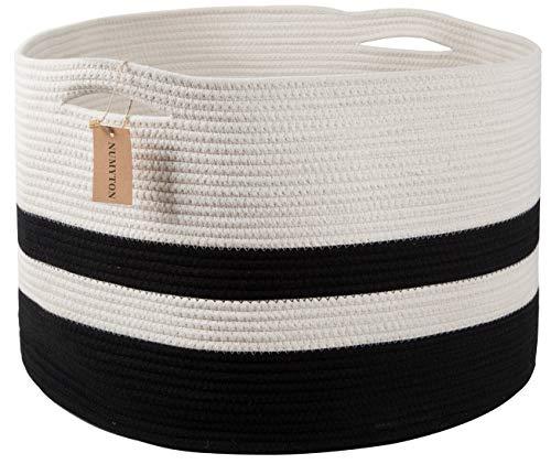 Numyton XXXL Large Cotton Rope Laundry Basket 22