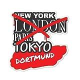 JOllify Aufkleber - Dortmund – Farbe: Design: Graffiti Streetart New York