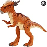 Jurassic World-Battle Damage Stygimoloch Stiggy, Dinosaurio de Juguete, Multicolor (Mattel FNB32)