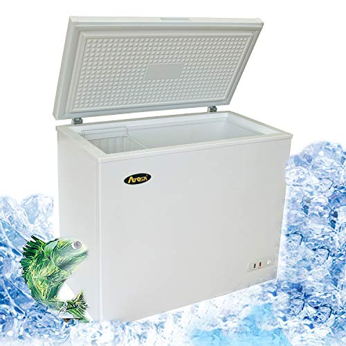 Atosa MWF9007 Solid Top Chest Freezer 7 Cubic Feet