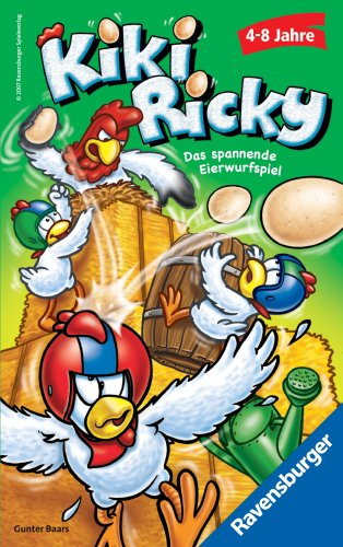 Ravensburger 23242 - Kiki Ricky - Mitbringspiel