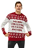 Unisex Men's Ugly Christmas Sweater Knitted Funny...
