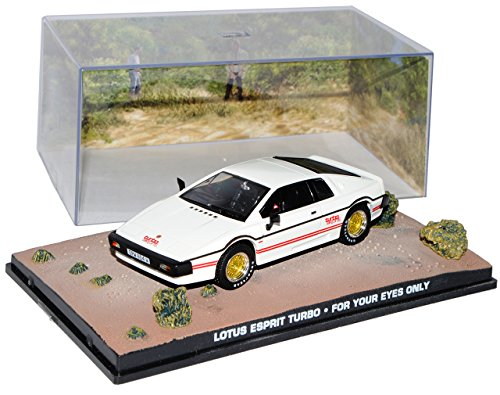Ixo Lotus Esprit Turbo Weiss In tödlicher Mission James Bond 007 1/43 Modell Auto