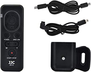 JJC RM-VPR1 Wired Remote Control for Sony FDR-AX53 AX33 AX100 AX700 AX45 AX60 PXW-X70 PXW-Z90V HXR-NX80 HDR-CX405 CX455 CX440 CX675 CX680 CX900 A5100 A6000 A6100 A6300 A6400 RX100 VII VI V RX10 IV III