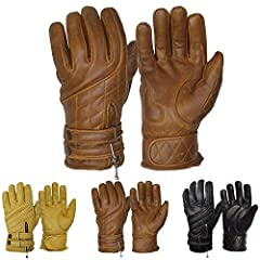 HIGHEST QUALITY MATERIALS - These gloves are manufactured from a 1.1mm thickness aniline cowhide leather, resulting in a very soft and supple pair of gloves whilst not sacrificing on the protective tear resistant and burst resistant qualities of cowh...