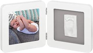 Porta Retrato My Baby Touch Baby Art - White e Grey