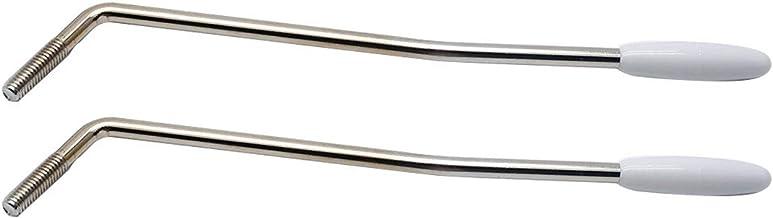 Hordion 3 Pcs 6mm Double Tremolo Arm Tremolo Bar Whammy Bar for Floyd Rose Tremolo System