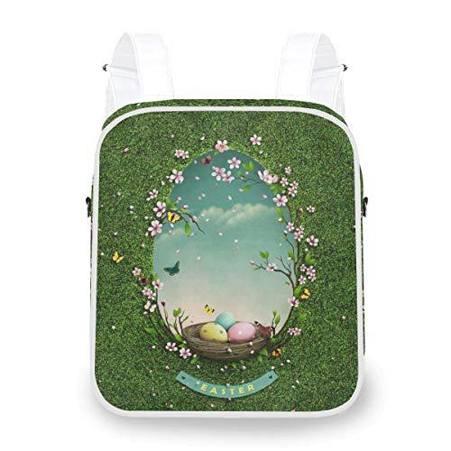 Süßer Rucksack Grünland Spiegel Casual Daypack Dual Use Schultaschen Crossbody Rucksack für Studenten Mädchen Jungen Mann Frau