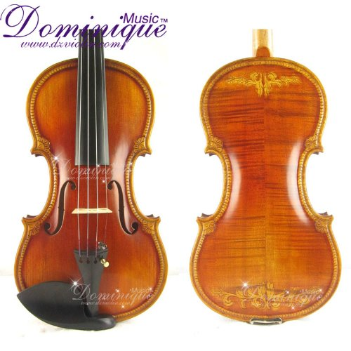 D Z Strad Model 512 Violin 4/4 Full Size Professional Handmade with $900 Free Gift (4/4-Full Size) (4/4)