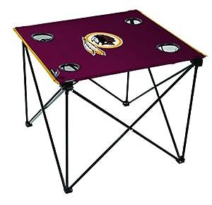 NFL Washington Redskins Unisex NFL OS Wasred TLG8 Delux Tablnfl OS Wasred TLG8 Delux Tabl, Red, No Size