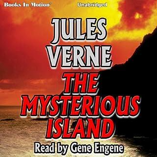 Page de couverture de The Mysterious Island