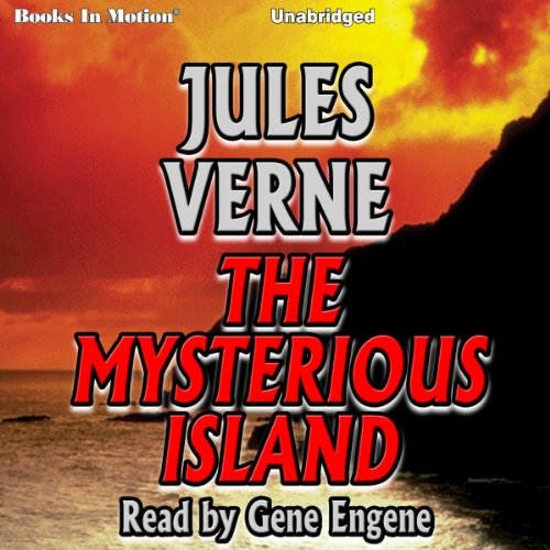 The Mysterious Island cover art