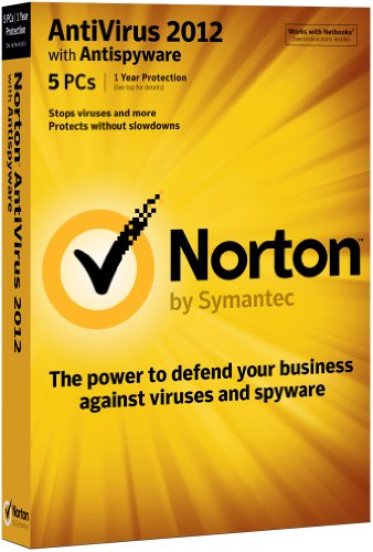 Norton AntiVirus 2012 Small Office Pack - Full Package Product - 5 Benutzer