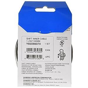Shimano Cable Standard para cambios, 1.2 x 2100 mm