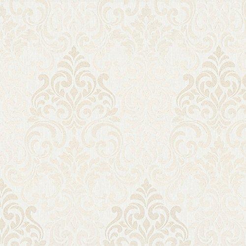 Tapete Beige - Ornamental - für Schlafzimmer oder Wohnzimmer - Made in Germany - 10,05m x 0,70m - 58210