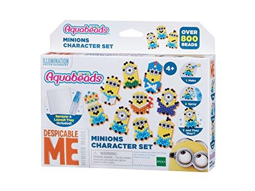 Aquabeads Epoch Traumwiesen 30538 Minions Figurenset Bastelset für Kinder